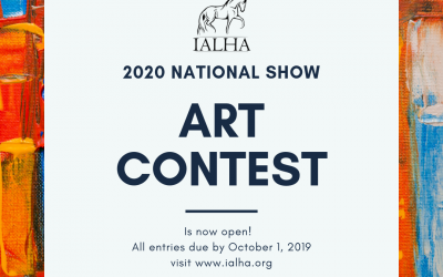 Calling All Artists! The IALHA Art Contest is now Open!!