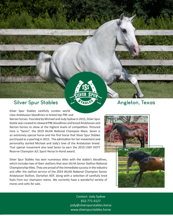 Andalusian Breeding and Sales